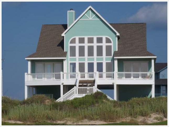 A little peek into crystal beach texas beach coast style for Beach house plans galveston